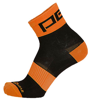 Pells Ponožky RACE Reflex - oranžová 44-45