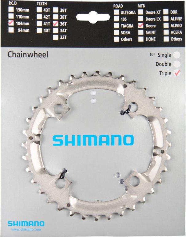 převodník 36z Shimano Deore M532