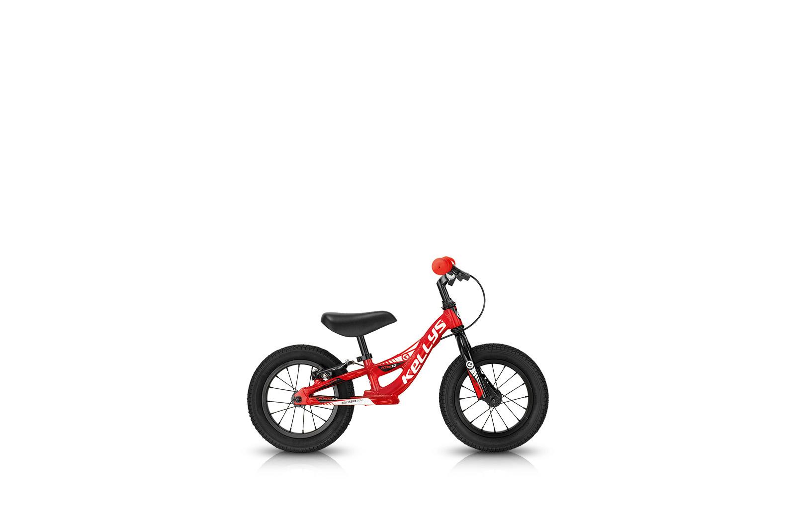 Dětské odrážedlo KELLYS KITE 12 RACE RED s brzdou 2017