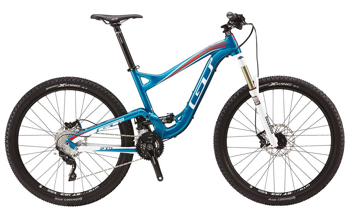 GT Bicycles 2015 GT SENSOR 27,5 (AL) EXPERT, BLUE/WHITE S