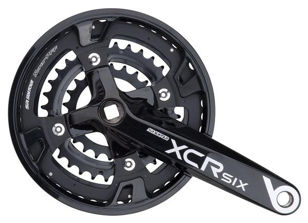 Trojpřevodník SUNTOUR CW14-XCR SIX-T424 Al 22x32x44 zubů černá