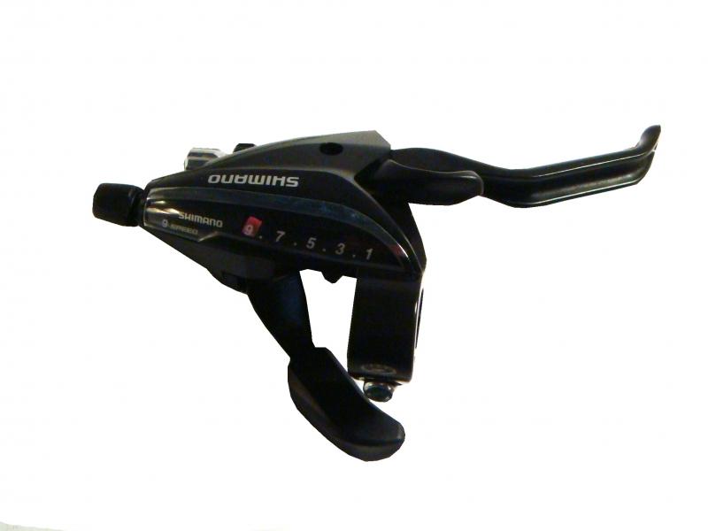páka ř/b MTB Shimano STEF65 P 9p černá