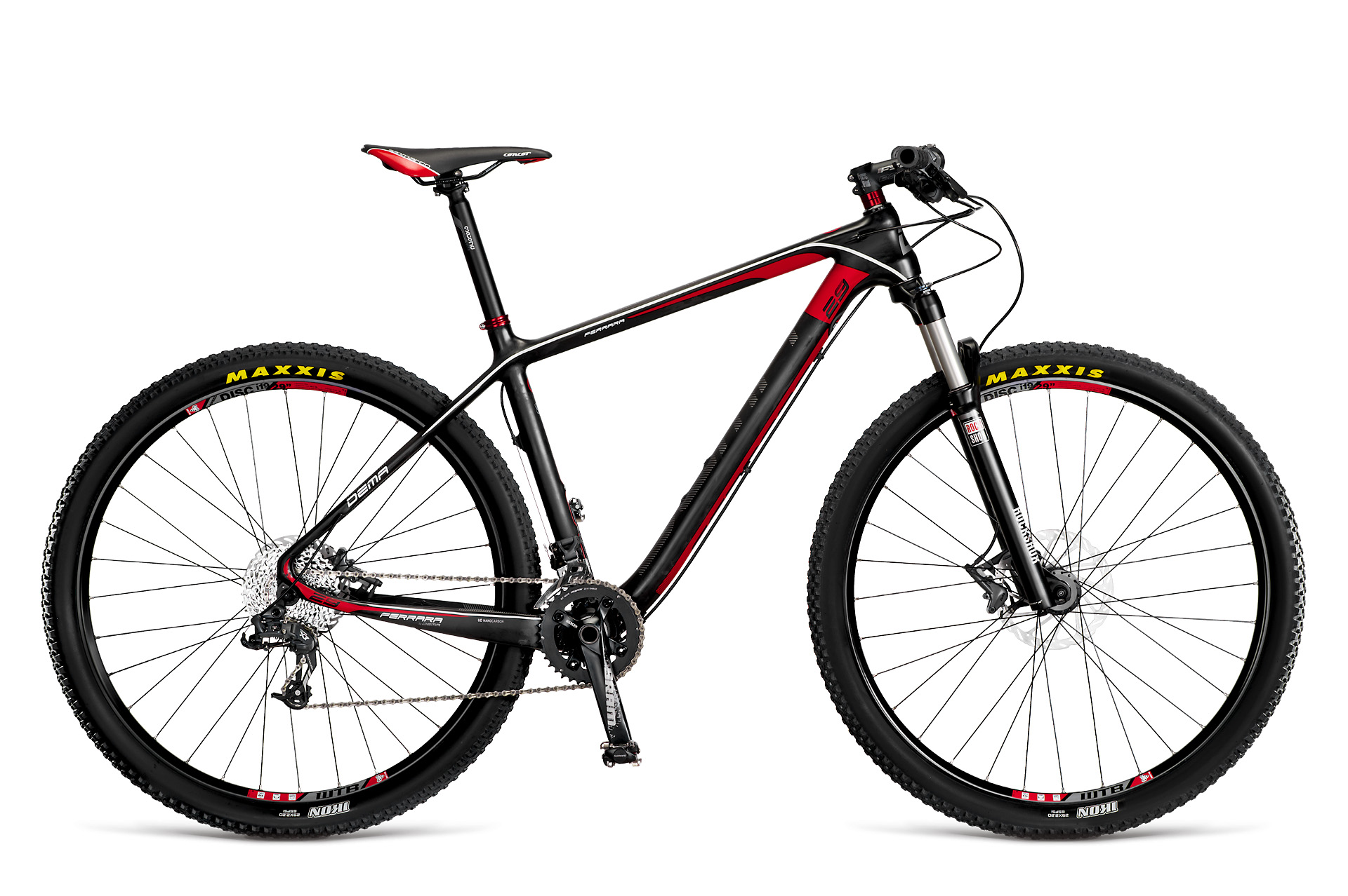 Dema FERRARA 7.0 black-red 2014 17""