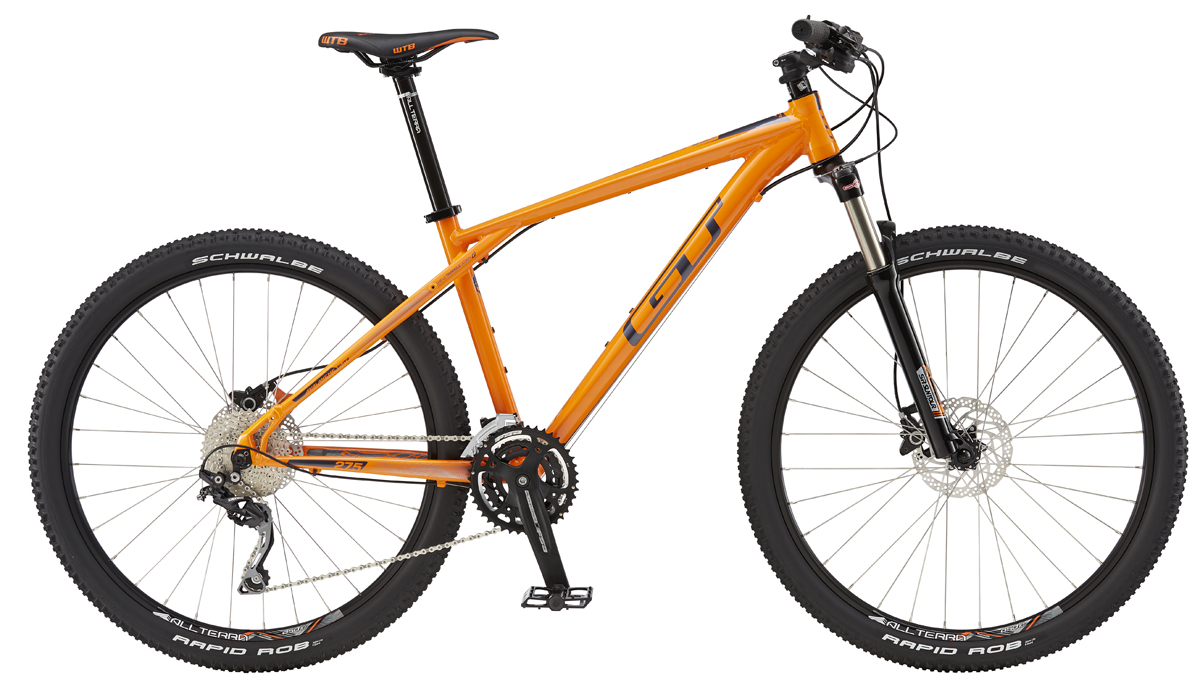 GT Bicycles 2016 GT AVALANCHE 27,5 ELITE, ORANGE/GUN M