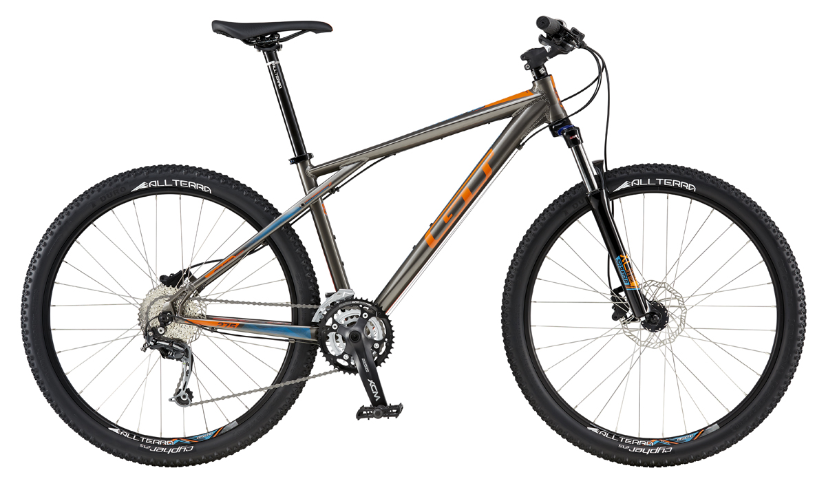 GT Bicycles 2016 GT AVALANCHE 27,5 COMP, GRAY/ORANGE S