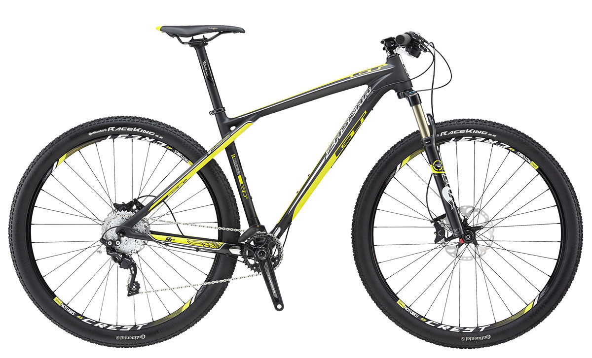 "GT Bicycles 2015 GT ZASKAR 29"" CARBON 9R PRO, MATTE RAW M"