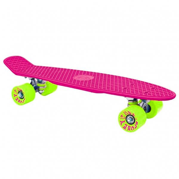 skateboard Spokey CRUISER tm.růžový