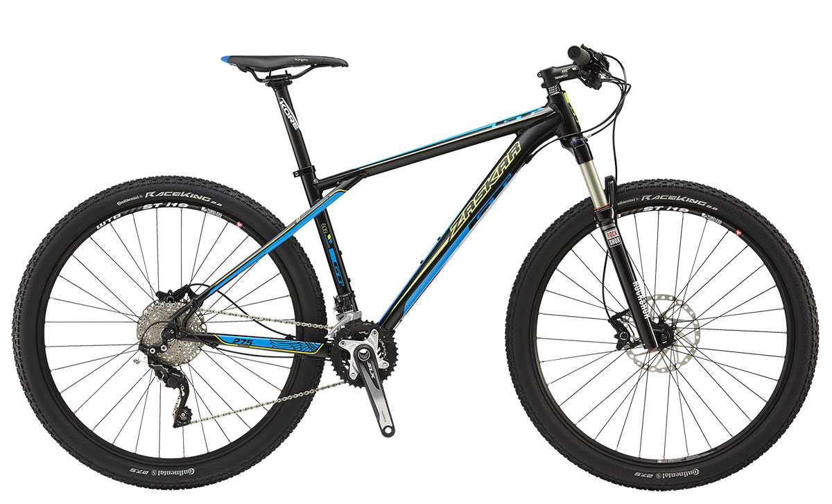 "GT Bicycles 2015 GT ZASKAR 27,5"" ELITE, MATTE BLACK L"