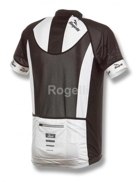 dres krátký Rogelli PRALI bílo-černý L
