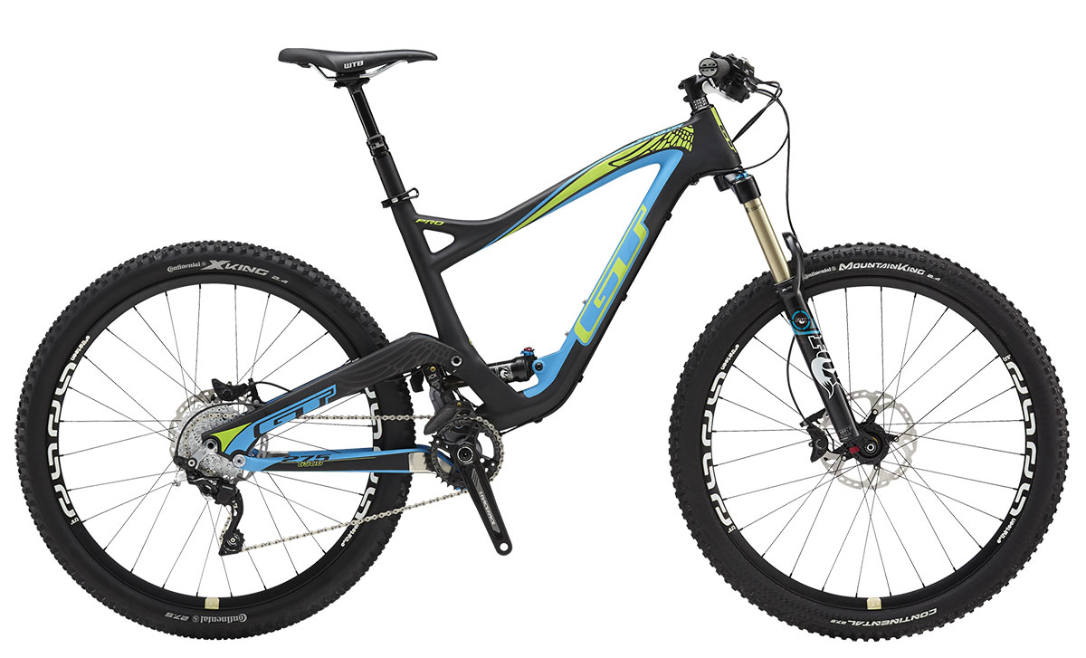 GT Bicycles 2015 GT SENSOR 27,5 CARBON PRO, MATTE BLUE/RAW M
