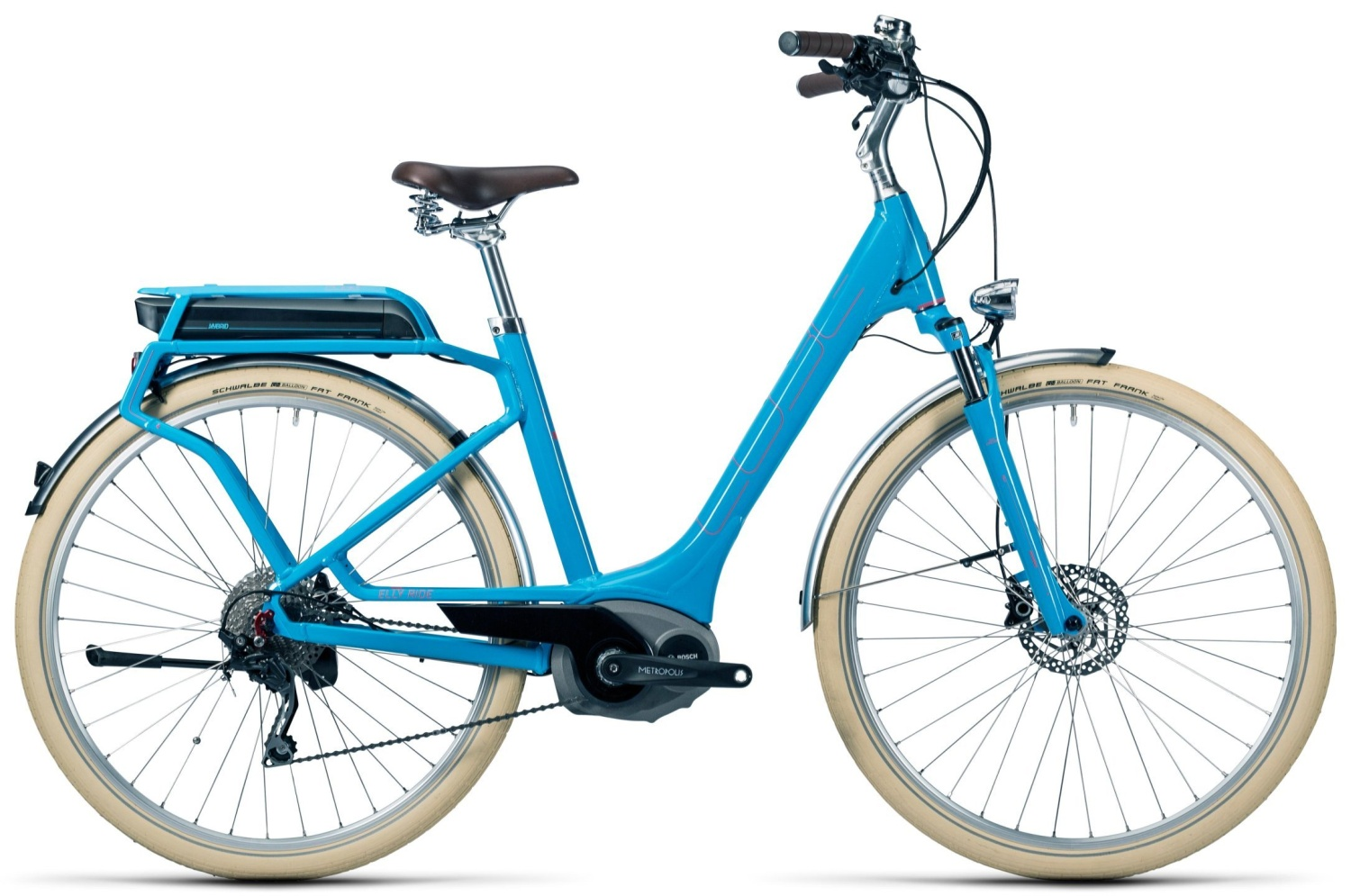 Cube Elly Ride Hybrid 400 blue'n'flashred 2016 46E