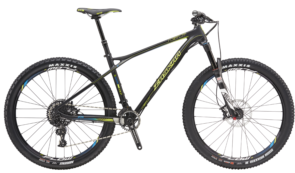 "GT Bicycles 2016 GT ZASKAR 27,5"" CARBON LTD, RAW/NEON YELLOW M"