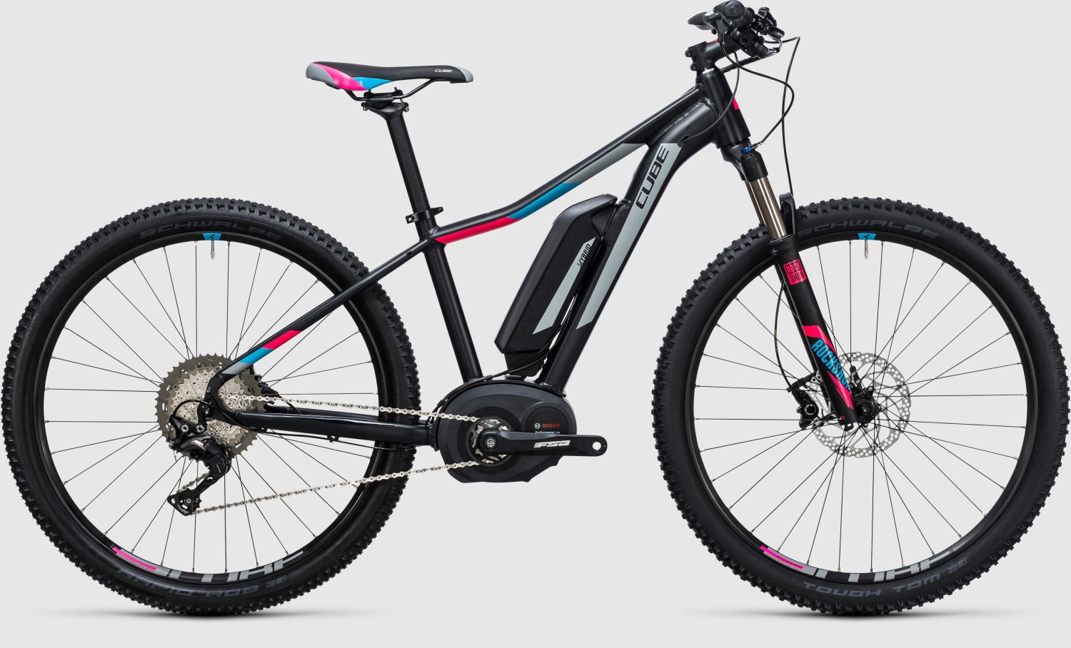 "CUBE Access WLS Hybrid Race black´n´grey 27.5"" 2017 14"""