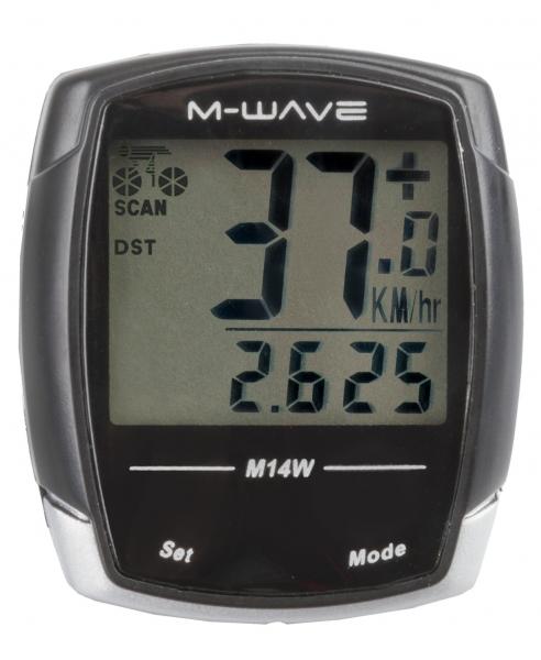 cc M-Wave M14W 14 funkcí černý