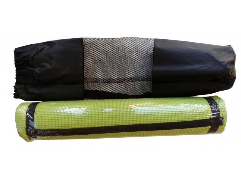 N/A karimatka na cvičení 6mm s obalem zelená
