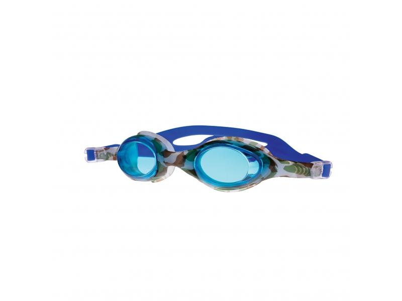 brýle Spokey BARBUS modré s potiskem