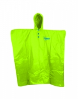 pláštěnka HAVEN RAINCOAT Poncho fluo zelená