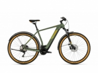 Elektrokolo Cube Cross Hybrid Pro 625 Allroad green´n´orange 2020
