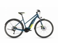 Elektrokolo Cube Nature Hybrid EXC 500 Allroad blue´n´lime 2020 Trapeze
