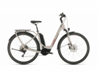 Elektrokolo Cube Touring Hybrid Pro 500 grey´n´red 2020 Easy Entry