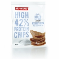 chipsy Nutrend HIGH PROTEIN 40g sůl exp. 09/20