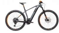 Horské elektrokolo CUBE ELITE HYBRID C:62 RACE 29 2021 grey´n´orange