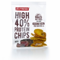 chipsy Nutrend HIGH PROTEIN 40g juicy steak exp. 10/20