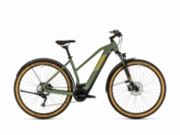 Elektrokolo Cube Cross Hybrid Pro 625 Allroad green´n´orange 2020 Trapeze