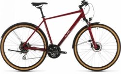 Trekingové kolo Cube Nature Allroad red´n´grey 2020