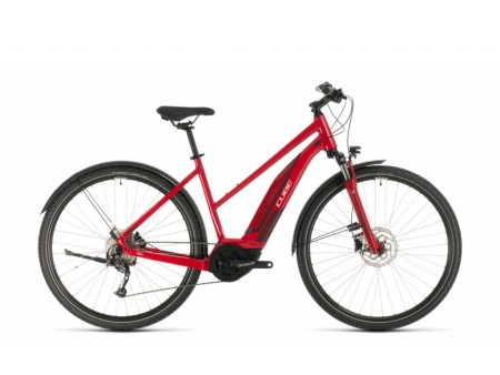 Elektrokolo Cube Nature Hybrid ONE 400 Allroad red´n´red 2020 Trapeze