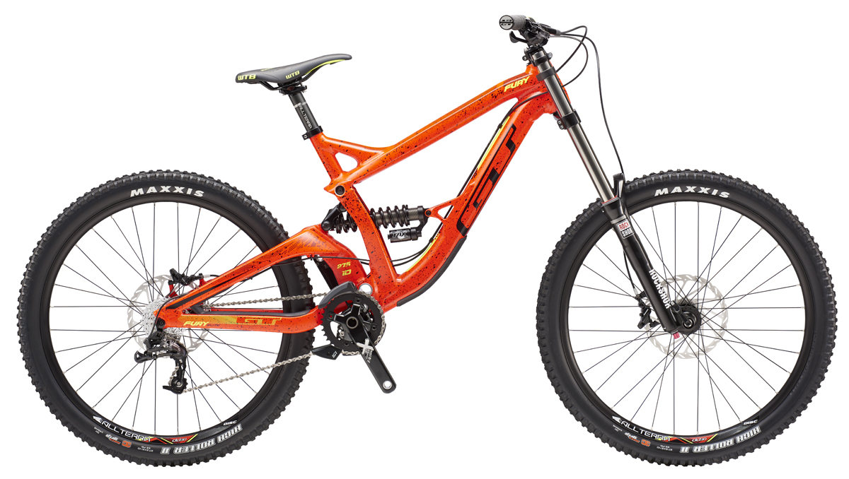 GT Bicycles 2016 GT FURY 27,5 ELITE, NEON RED/BLACK M