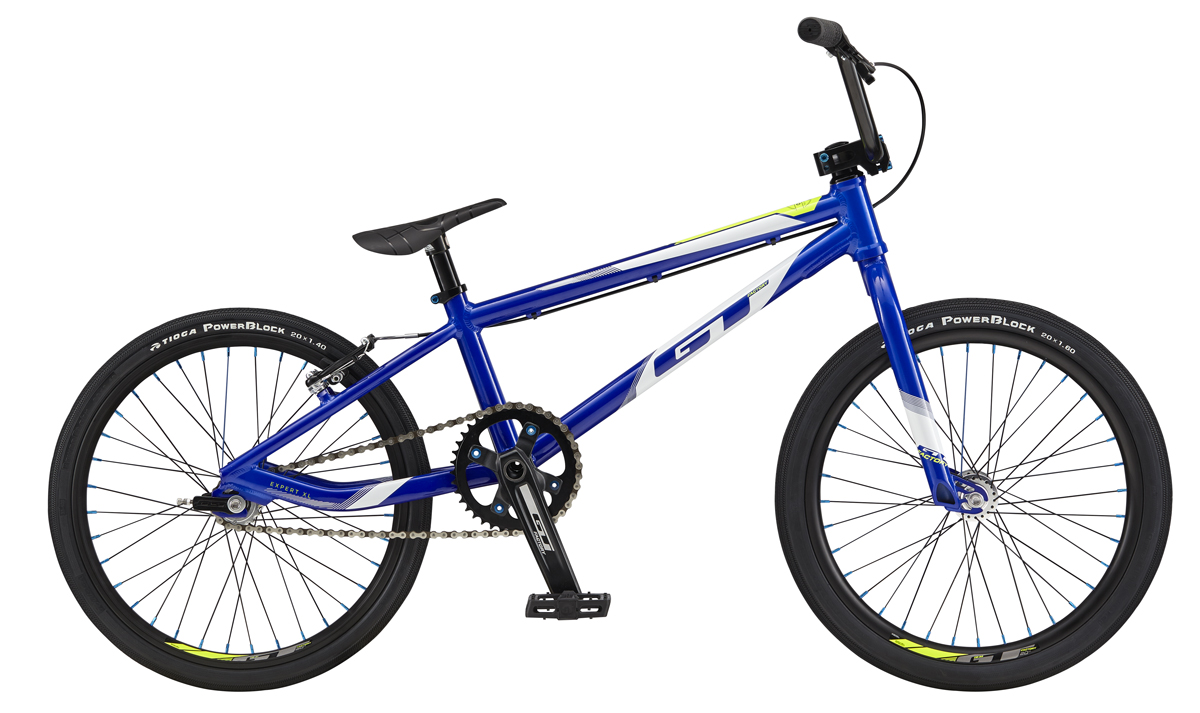 GT Bicycles 2017 GT PRO SERIES JUNIOR, VIVID TRANSPARENT BLUE/WHITE