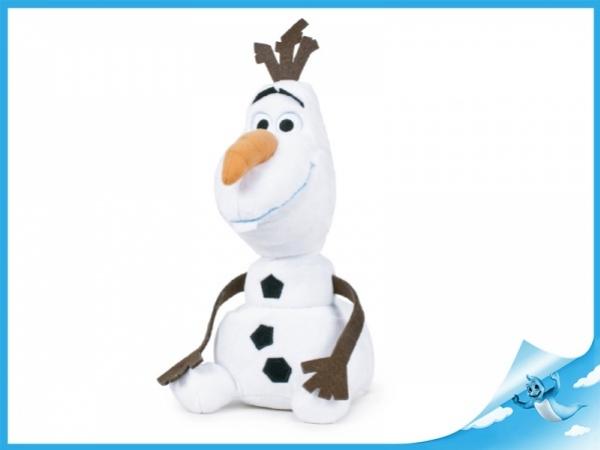 plyšový sněhulák Olaf 30cm sedící
