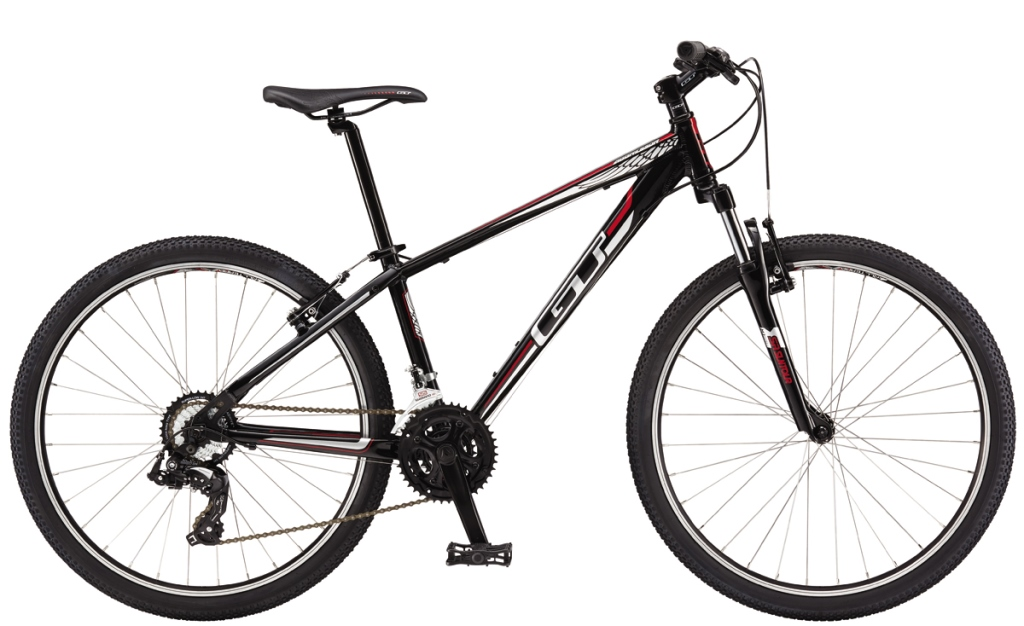 GT Bicycles 2016 GT AGGRESSOR 26, BLACK/WHITE