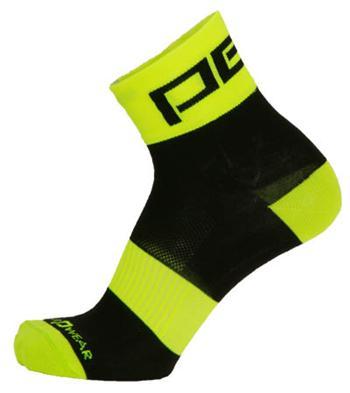 Pells Ponožky RACE Reflex - žlutá 44-45
