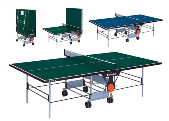 stůl st.tenis SPONETA venkovní Zelený
