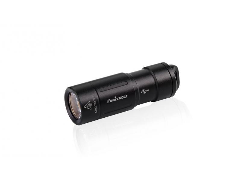 svítilna Fenix UC02 nabíjecí - černá
