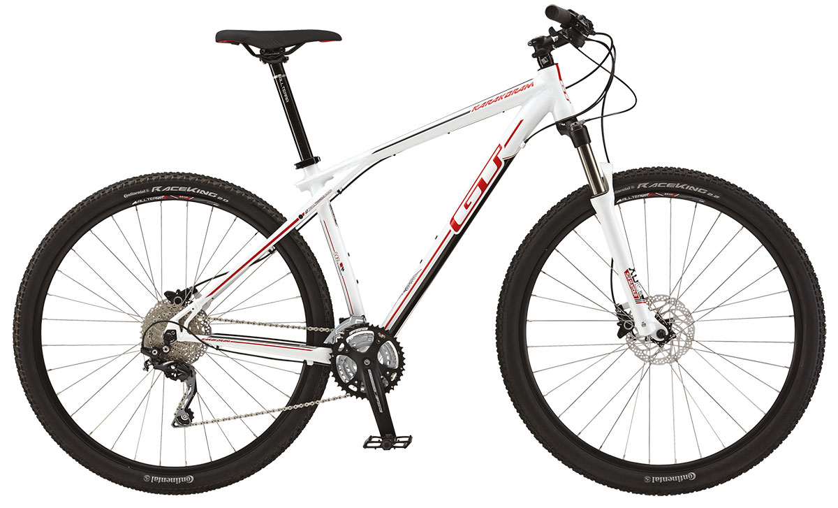 GT Bicycles 2015 GT KARAKORAM 29 ELITE, GLOSS WHITE S