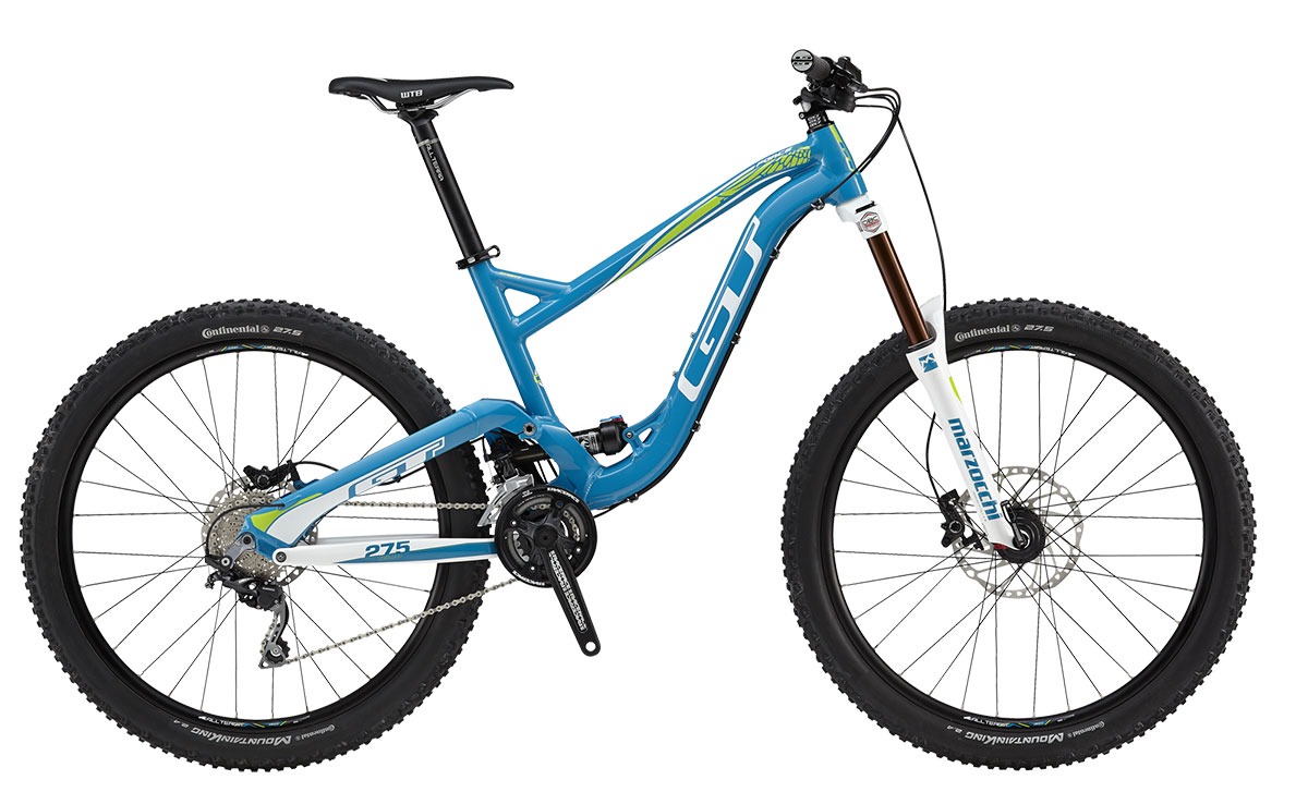 GT Bicycles 2015 GT FORCE X 27,5 (AL) SPORT, GLOSS BLUE/WHT M
