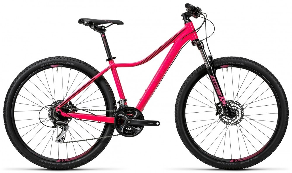 "Cube Access WLS Pro pink'n'black 29"" 2016 17"""
